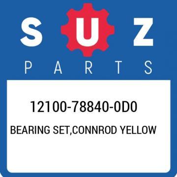 12100-78840-0D0 Suzuki Bearing set,connrod yellow 12100788400D0, New Genuine OEM