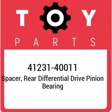41231-40011 Toyota Spacer, rear differential drive pinion bearing 4123140011, Ne