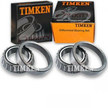 Timken Rear Differential Bearing Set for 1970-2004 GMC Jimmy  uo