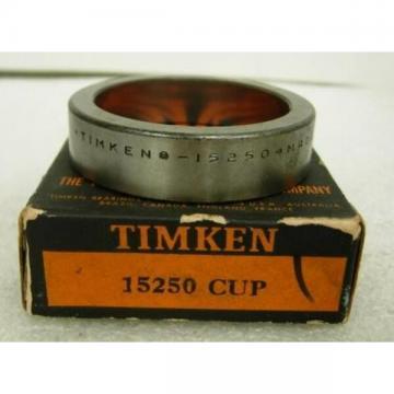 """TIMKEN BEARING 15250, 2.5"""" OD, 0.6250"""" WIDTH"""