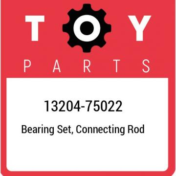 13204-75022 Toyota Bearing set, connecting rod 1320475022, New Genuine OEM Part