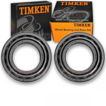 Timken Front Inner Wheel Bearing & Race Set for 1989-1991 Chevrolet R3500  kj