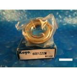 KOYO 6001 ZZ CM, 2Z, 2RZ,Deep Groove roller Bearing (=2 SKF, NSK FAG, 9101 KDD)